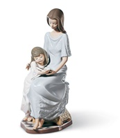 Bedtime Story Mother Figurine