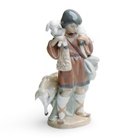 Shepherd Boy Nativity Figurine