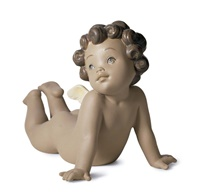 Winged Tenderness Figurine