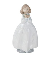 The Flower Girl Figurine