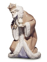 King Melchior Nativity Figurine