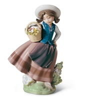 Sweet Scent Girl Figurine
