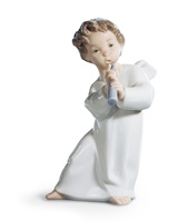Angel with Flute Figurine