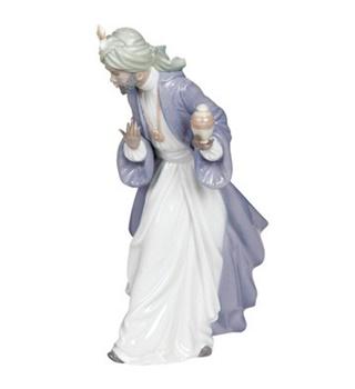 King Balthasar with Jug Figurine