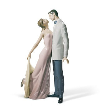Happy Anniversary Couple Figurine