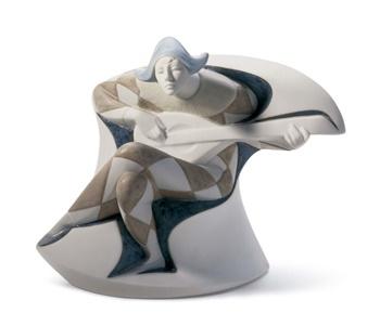 Harlequin Figurine