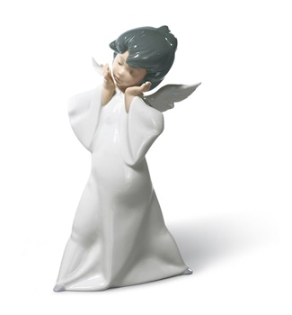 Mime Angel Figurine