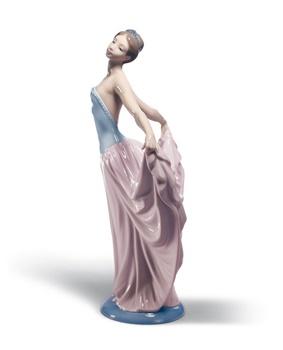 Dancer Woman Figurine