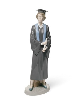 Her Commencement Woman Figurine