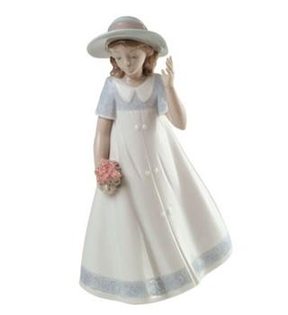 Spring Stroll Figurine