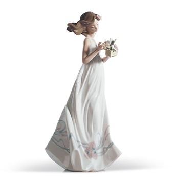 Butterfly Treasures Woman Figurine