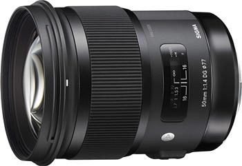 Sigma 50mm f/1.4 DG HSM   A