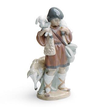 Shepherd Boy Nativity Figurine