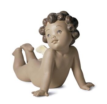 Winged Tenderness Figurine