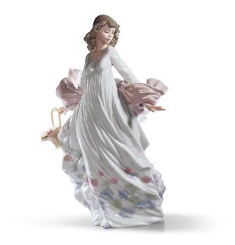 Spring Splendor Woman Figurine
