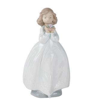The Flower Girl Figurine
