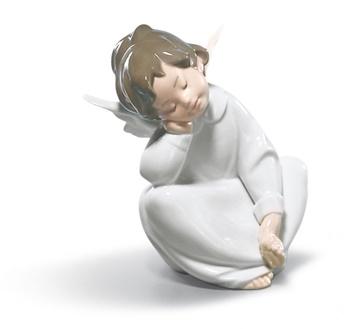 Angel Dreaming Figurine