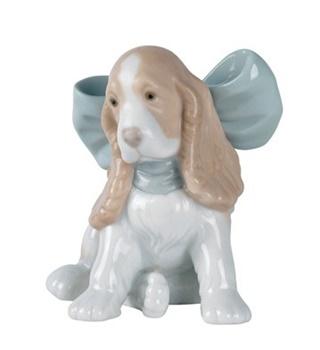 Puppy Present Figurine