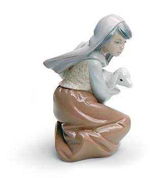 Lost Lamb Nativity Figurine