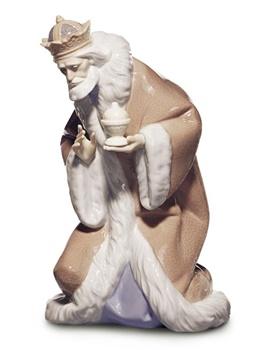 King Melchior Nativity Figurine