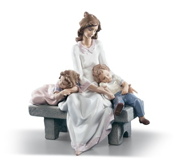 An Afternoon Nap Mother Figurine