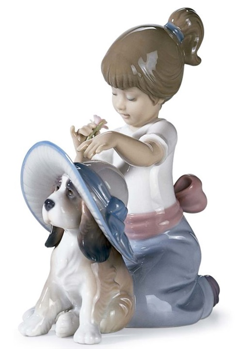 An Elegant Touch Girl Figurine