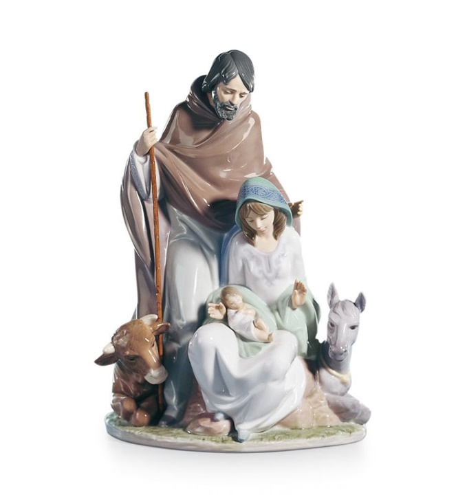 Joyful Event Nativity Figurine