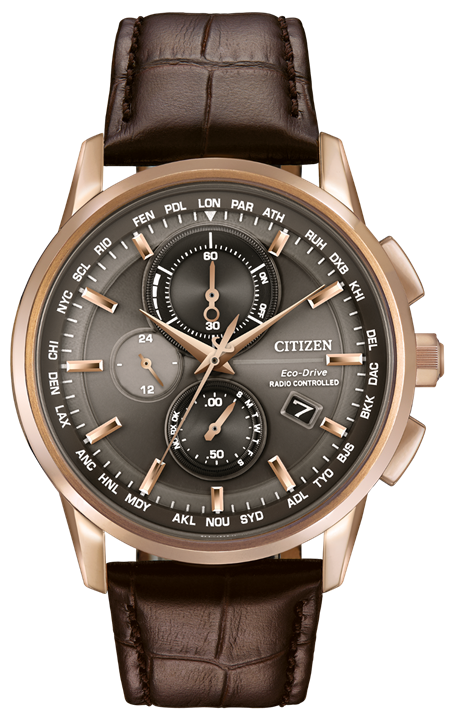 World Chronograph A-T AT8113-04H
