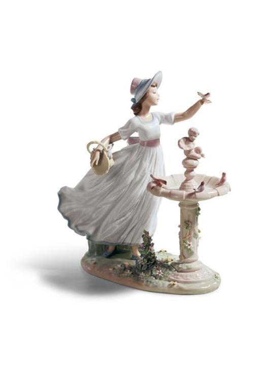 Spring Joy Girl Figurine